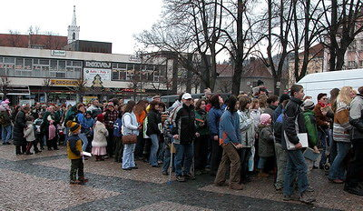 Vytvoření rekordu v roce 2007 - archivní foto: Ladislav Havel